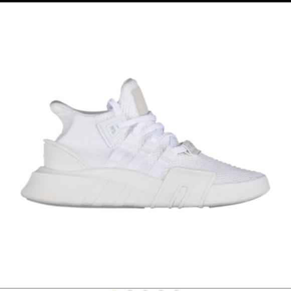 new concept 3a85f 1cc6c adidas EQT Basketball ADV White Shoes size 12